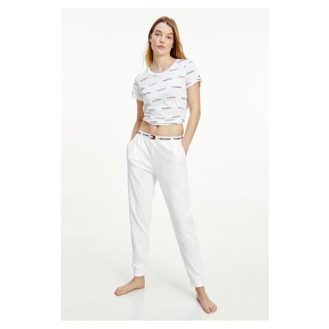 Tommy Hilfiger tepláky z organickej bavlny dámske - biele Veľkosť: XS