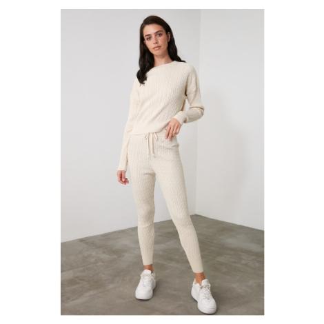 Trendyol Stone Knitwear Bottom-Top Suit