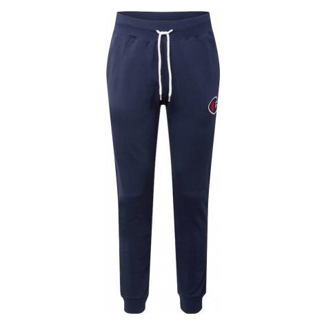 Champion Authentic Athletic Apparel Nohavice  námornícka modrá / biela / červená