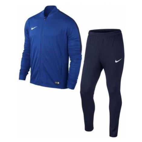 Nike ACADEMY16 YTH KNT TRACKSUIT 2 modrá - Chlapčenská športová súprava