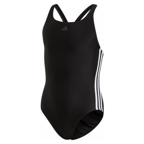 ADIDAS PERFORMANCE Športové plavky 'Fit Suit 3S'  biela / čierna