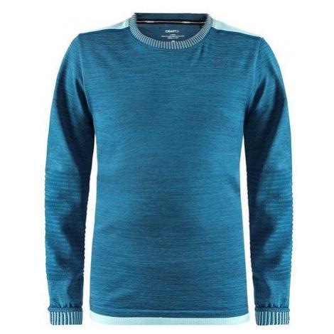 Tričko CRAFT Fuseknit Comfort 1906633-B77200 - modrá