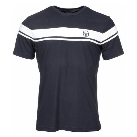 Young Line Pro T-shirt pánské triko barva: modrá;velikost oblečení: L Sergio Tacchini
