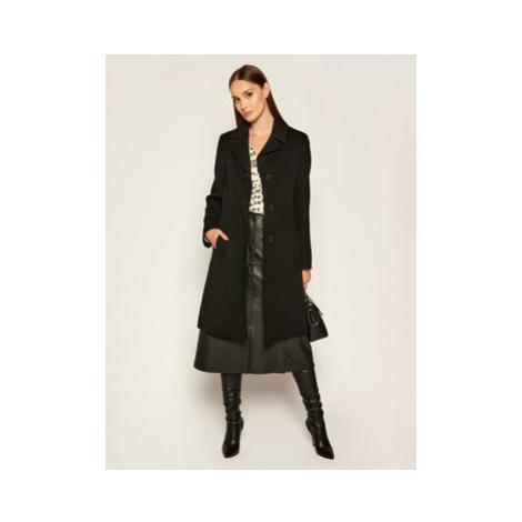 Weekend Max Mara Prechodný kabát Uggioso 50160109 Čierna Regular Fit
