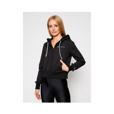 Champion Mikina Hooded 113187 Čierna Custom Fit