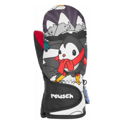 Reusch SNOWY R-TEX XT MITTEN šedá - Detské lyžiarske rukavice