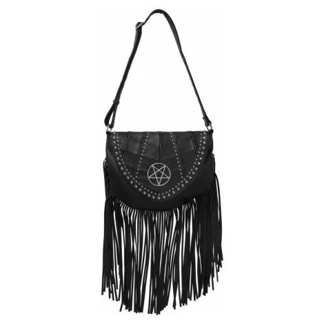 kabelka (taška) KILLSTAR - Metal Lyfe Fringe - BLACK - KSRA001530