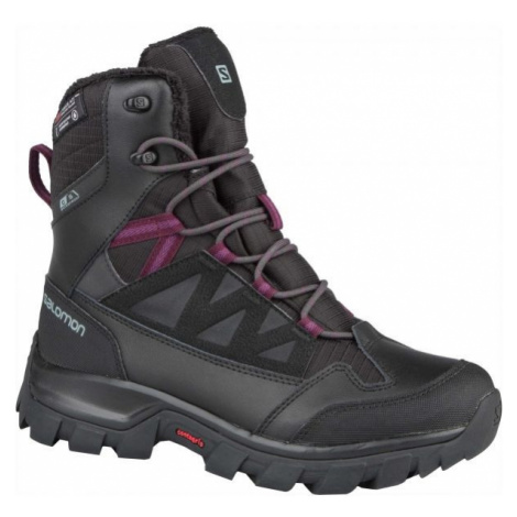 Salomon CHALTEN TS CSWP W čierna - Dámska zimná obuv