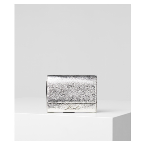 Peňaženka Karl Lagerfeld K/Signature Met Flap Wallet