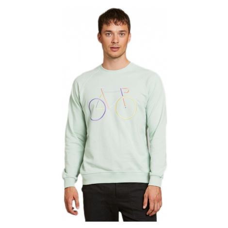 Dedicated Sweatshirt Malmoe Color Bike Mint-XL zelené 18300-XL