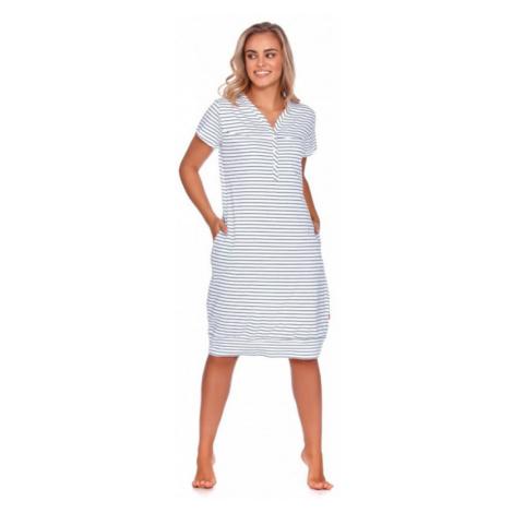 Nočná košeľa Doctor Nap TCB.9625 - barva:NAPBLUE/modré pruhy