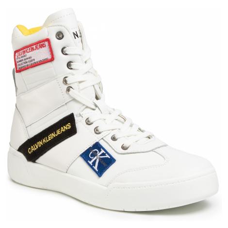 Sneakersy CALVIN KLEIN JEANS - Norton Nappa Leather S0580  Bright White