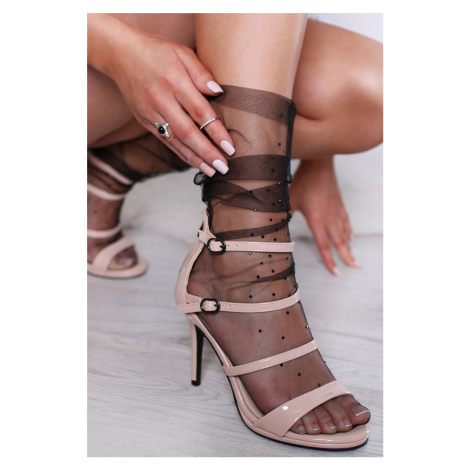 Béžové sandále Fabiola Belle Women