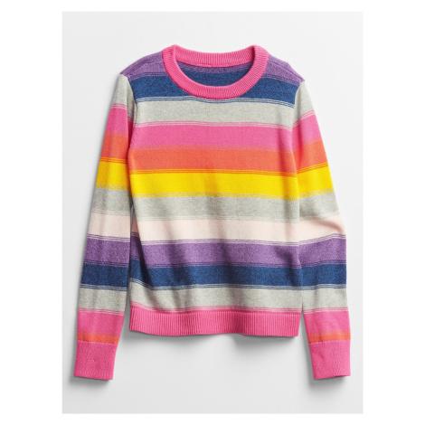 Farebný dievčenský sveter GAP