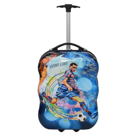 Semiline Kids's Suitcase T5463-7 Multicolour