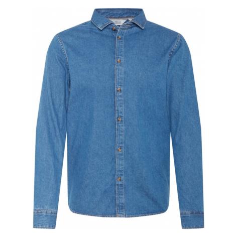 !Solid Košeľa 'Pil'  modrá denim