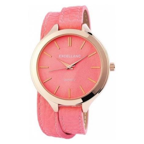 Dámske hodinky Excellanc - ružovozlaté