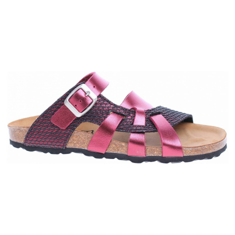 Dámské pantofle Bio Life 0004 Valeria bordo 0004. Valeria bordo