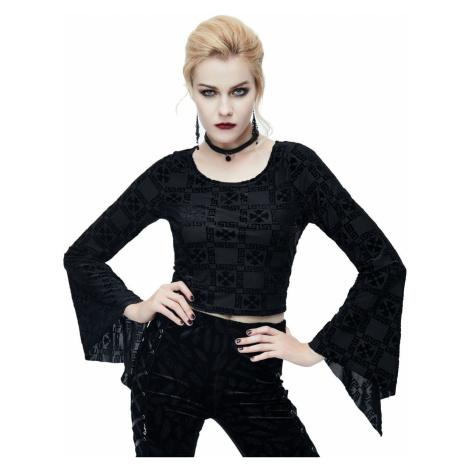 tričko dámske s dlhým rukávom DEVIL FASHION - TT073