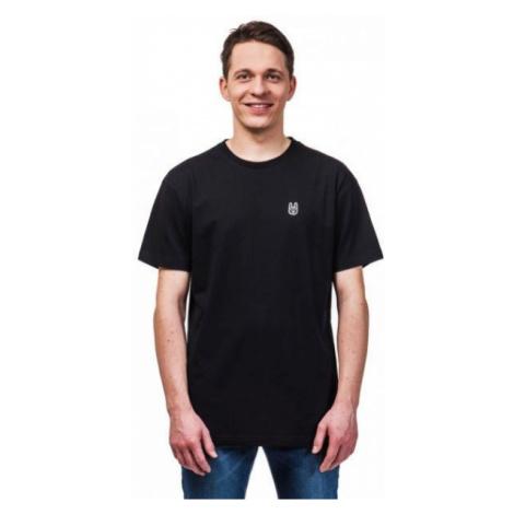 Horsefeathers HORN SS T-SHIRT čierna - Pánske tričko