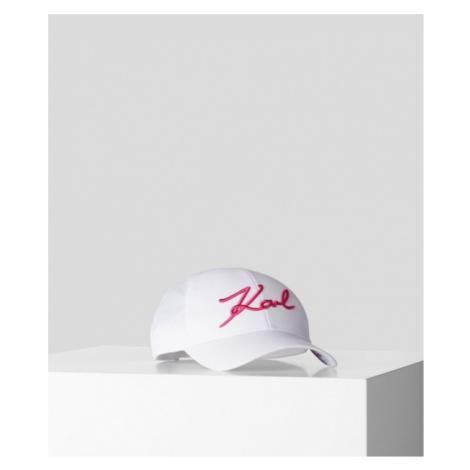 Šiltovka Karl Lagerfeld K/Signature Cap Visor Print