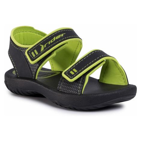 Sandále RIDER - Basic Sandal IV Baby 82815 Black/Green 20534