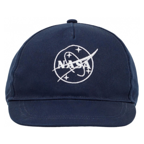 NAME IT Klobúk 'NASA'  biela / tmavomodrá