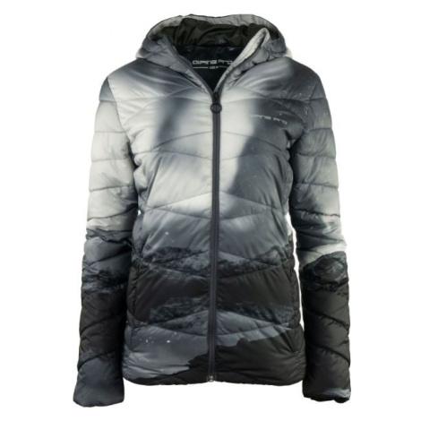 ALPINE PRO WIVIANA šedá - Dámska zimná bunda