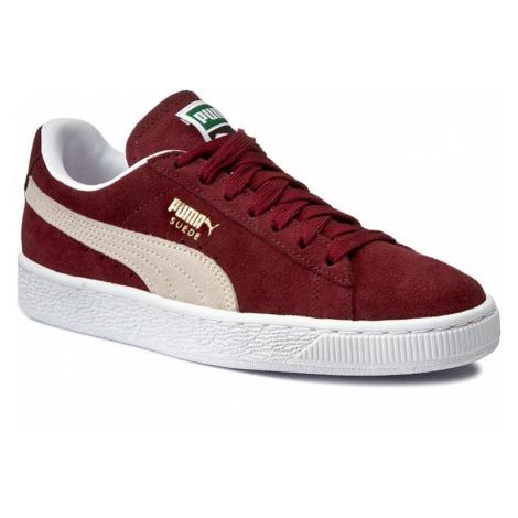 Sneakersy PUMA - Suede Classic+ 352634 75 Cabernet/White