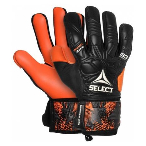 Brankárske rukavice Select GK gloves 33 Allround Negative Cut čierno oranžová
