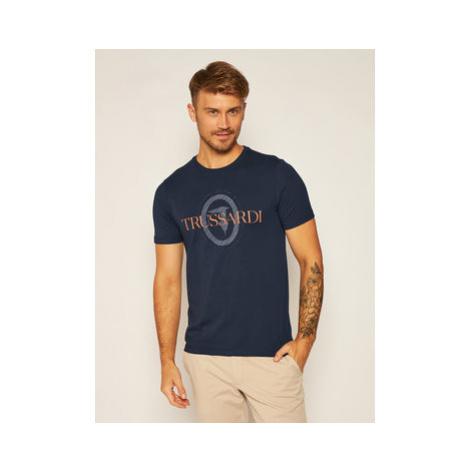 Trussardi Jeans Tričko 52T00385 Tmavomodrá Regular Fit