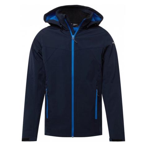 ICEPEAK Outdoorová bunda 'Brimfield'  tmavomodrá / svetlomodrá
