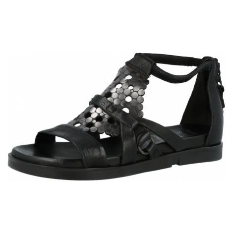 MJUS Sandále 'KETTA'  čierna