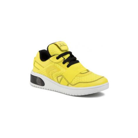 Geox Sneakersy J Xled B.B J927QB 01454 C359B S Žltá