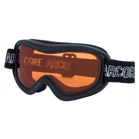 Arcore RUBY čierna - Juniorské lyžiarske okuliare