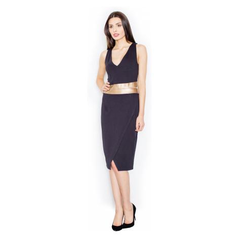 Figl Woman's Dress M439 Olive Black