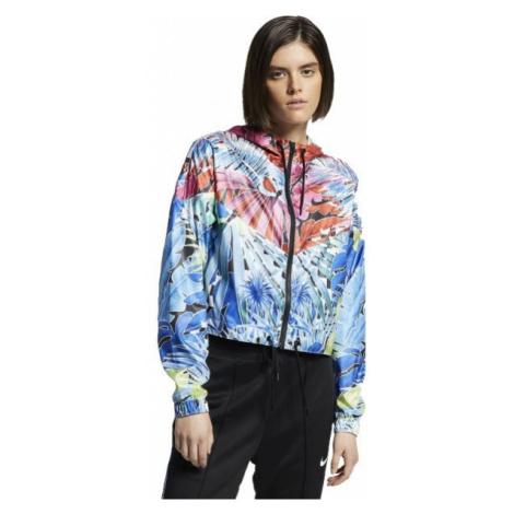 Nike HYP FM JKT WVN modrá - Dámska bunda