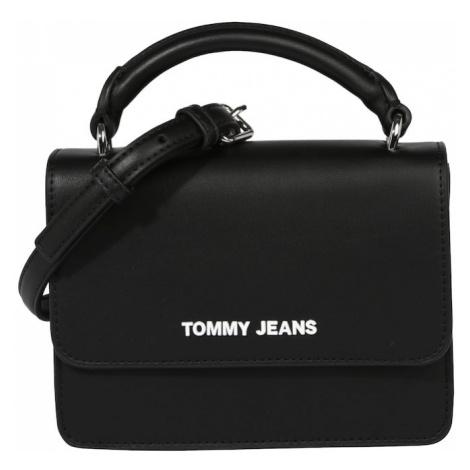 Tommy Jeans Kabelka  čierna / biela Tommy Hilfiger