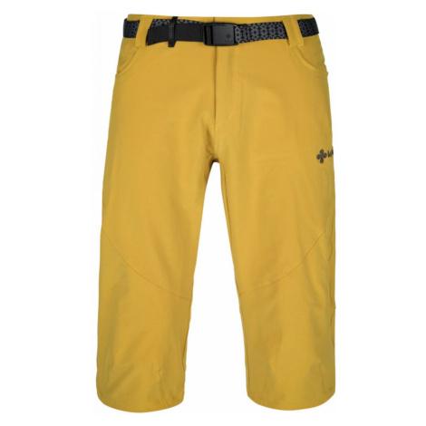 Men's outdoor 3/4 pants Otara-m yellow - Kilpi