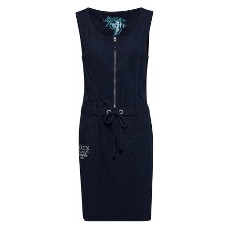 Soccx Šaty  námornícka modrá / biela / modrá