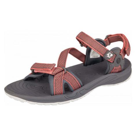 Jack Wolfskin LAKEWOOD RIDE SANDAL čierna - Dámske turistické sandále