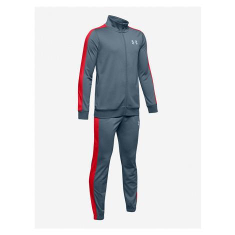 Súprava Under Armour Knit Track Suit-Gry Modrá