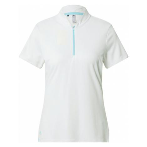 adidas Golf Funkčné tričko  biela / tyrkysová