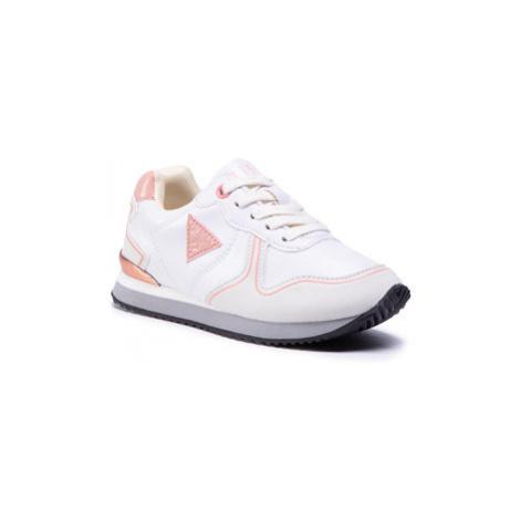 Guess Sneakersy Tessa FI7TES ELE12 Biela
