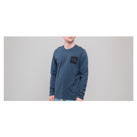 The North Face Longsleeve Fine Tee Blue Wing Teal