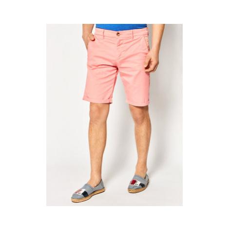 Guess Bavlnené šortky Myron M02D18 WCRJ1 Ružová Regular Fit