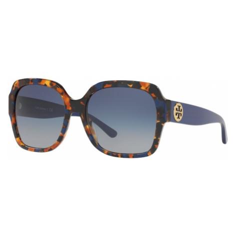 Tory Burch Slnečné okuliare  sivá / modrá
