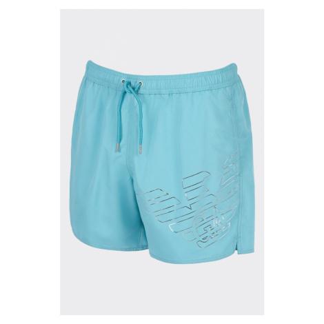 Emporio Armani Underwear Emporio Armani plavky pánske - tyrkysové Veľkosť: XL