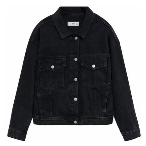 MANGO Prechodná bunda 'Rachel'  čierna