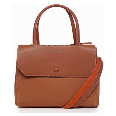 Dámska kabelka David Jones Sophie - oranžová